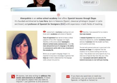 A la española